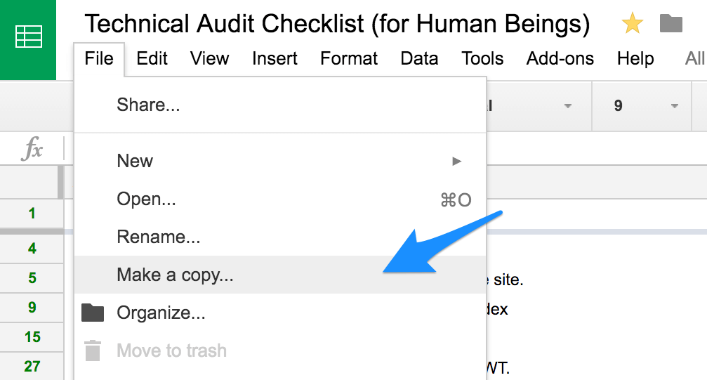 Technical SEO Audit Checklist for Human Beings | Distilled