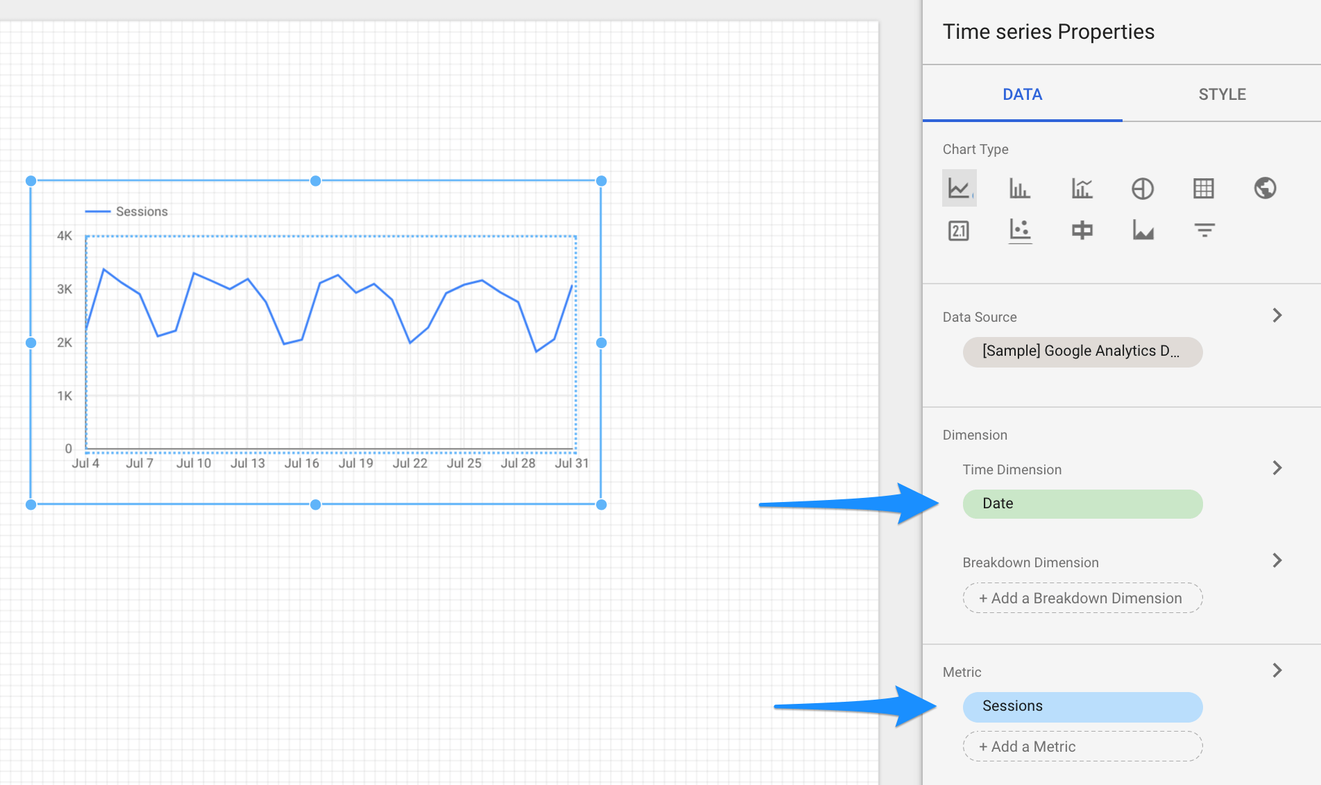 Google Data Studio The Beginner S Tutorial Distilled