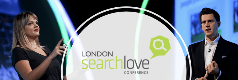 SearchLove London 2018 - Will Critchlow and Kirsty Hulse