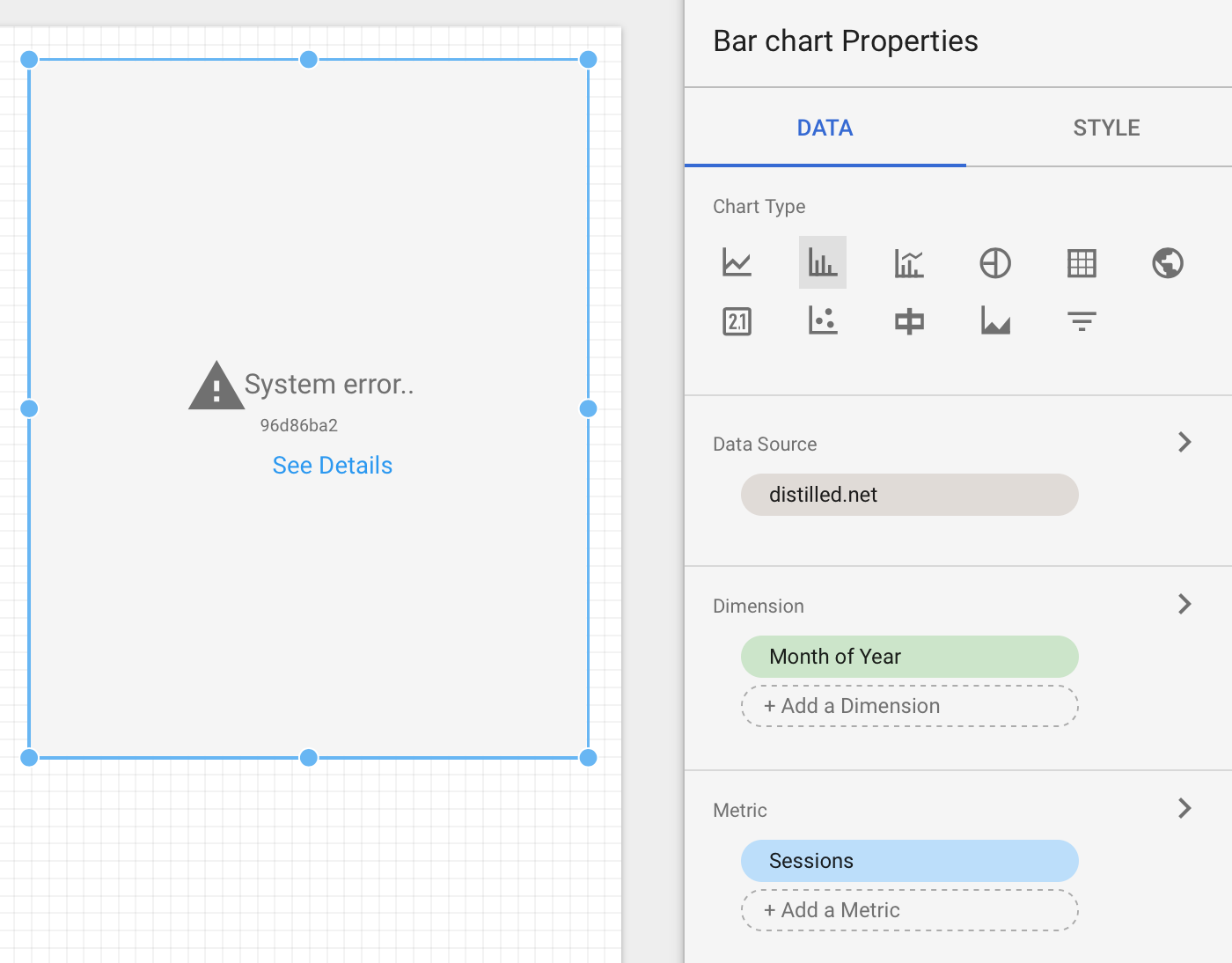 Google Data Studio: How sharing and credential permissions work