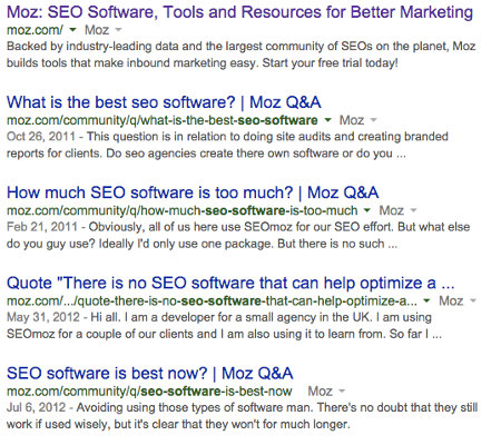 Competitor Research Using Search Operators | A Launch Point