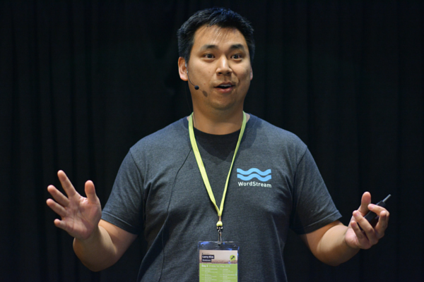 Larry Kim at SearchLove Boston 2014