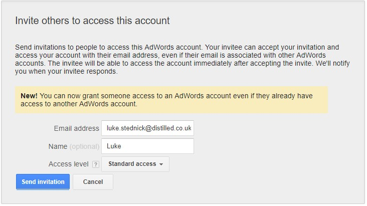 Starting With A New Ppc Client Getting Access And Checking Settings