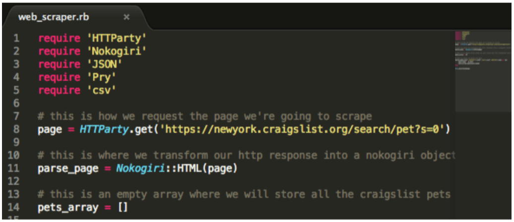 Web Scraping With Ruby And Nokogiri For Beginners Distilled