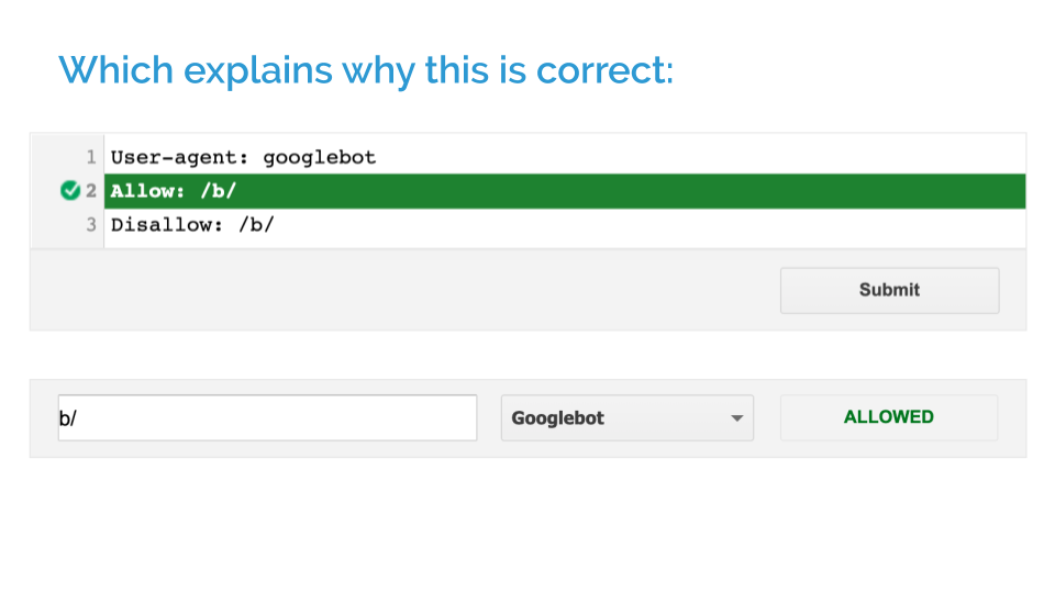 Search Console is correct in this instance