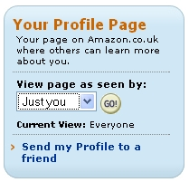 Amazon Profile Privacy Settings