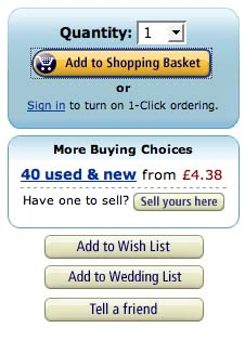 Amazon - shopping options