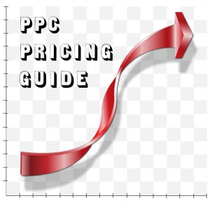 PPC Pricing Guide website mock up