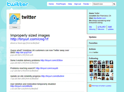 Twitter Screen Shot