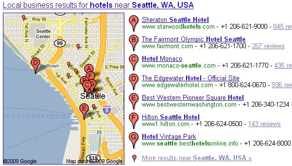 seattle hotels