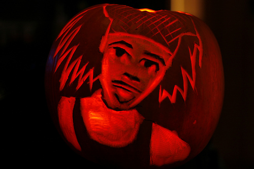 Antoine Dodson Bed Intruder Pumpkin