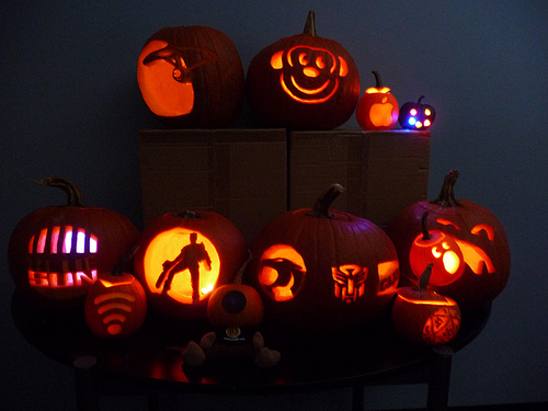 Star Trek Pumpkin and other ThinkGeek winners
