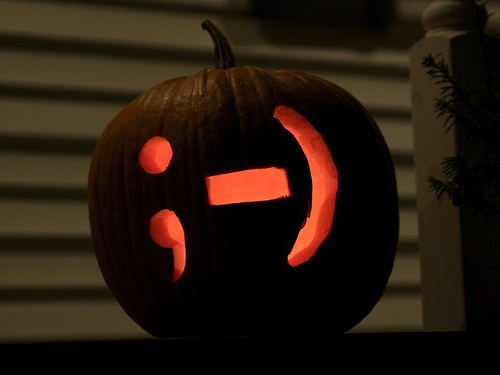 Emoticon Smiley Face Pumpkin