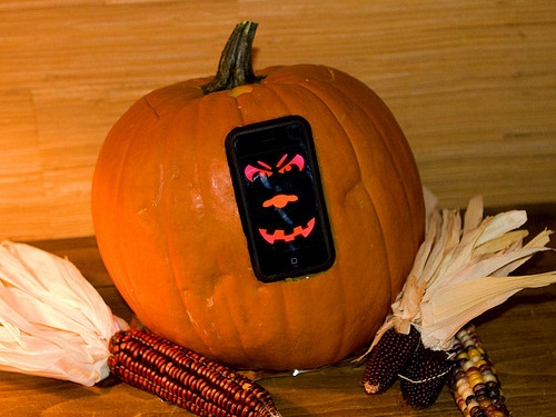 iPhone Pumpkin