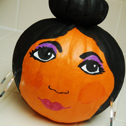 Snooki Pumpkin - It's a Jersey Thing.