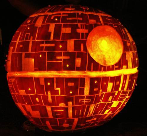 Star Wars - Death Star Pumpkin