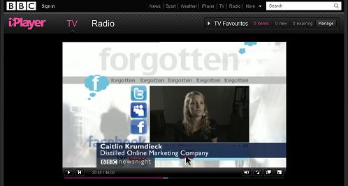 Caitlin Krumdieck on BBC Newsnight