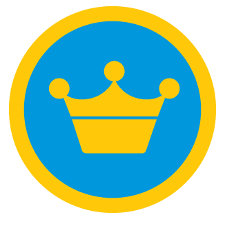 Super mayor badge