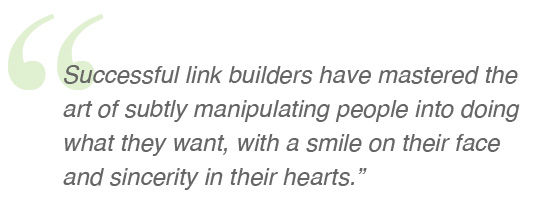 Adria Saracino thoughts on link builders