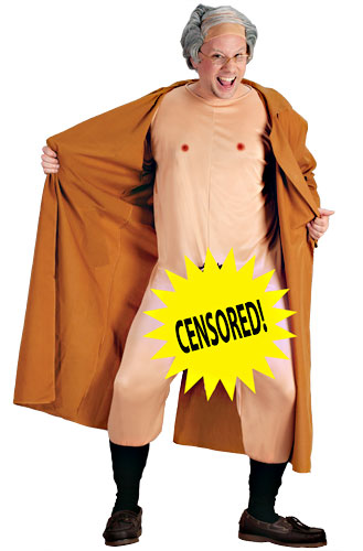 Frank the Flasher costume